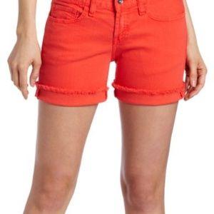 Lucky Brand Orange Abbey Short